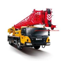 شاحنة محمولة هيدروليكية تلسكوبية STC250T5 Sany مزودة بعجل لرفع البنائية هيكل قوي لذراع الرافعة قوي بقدرة رفع 25 طن