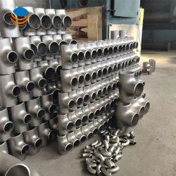 L'acier au carbone ASME B16.9 du raccord de tuyau té de réduction/Droites transparente