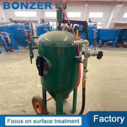 Geöffneter aufbereitender beweglicher beweglicher Mini-/kleiner nasser Typ/staubfreier/Staub Freesand Bläser/Sandstrahler-Maschine des Hochdrucks für Staub-Abbau