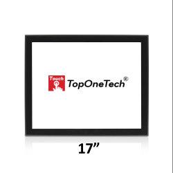 싼 Vesa 벽 마운트는 17 인치 전기 용량 용량 산업 4:3 IPS HD 전시를 가진 다중 Touchpanel Toucnscreen에 의하여 통합된 모니터 LCD 열린 구조를 계획했다