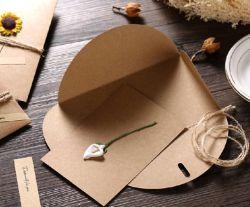 투명한 청구서 봉투를 각인하는 반투명 공백 황산염 종이 봉투 반점은 포장을 수신했다