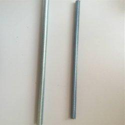 DIN975 المكونات المعدنية القياسية ذات زنك القضيب الملعس بالكامل M22