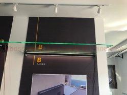 8mm de cristal templado cubierta de techo LED Entrada Toldo Jabo