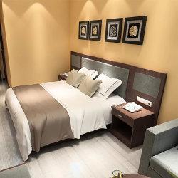 Америки Квартира с одной спальней Furnitur ткань кровать спальня мебель деревянные кровати
