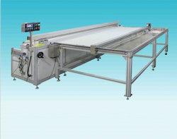 Vorhang-Klemmfalte-Maschinen-automatische nähende faltende Maschine