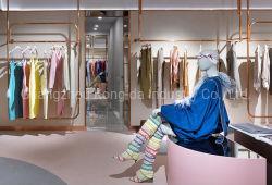 Signore personalizzate che coprono il basamento della sala d'esposizione della visualizzazione della mobilia di disegno del contatore del negozio