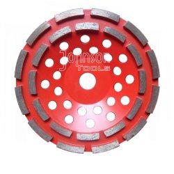 180mm 돌을%s 두 배 줄 컵 바퀴