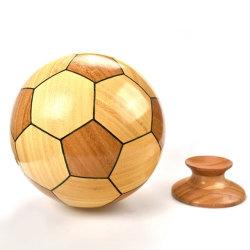 Профессиональные новый стиль дома декор бамбук деревянные искусств ремесел деревянные футбол подарки