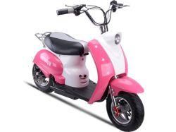 350W/500W Kids ciclomotor Scooter Eléctrico Mini Moto Scooter de pequeña llave de contacto con el pedal