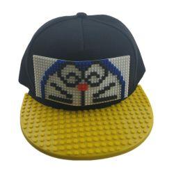 De Puzzle DIY Building Blocks Party hoeden Custom Children's Educational Toy Buckle Cap Flat Hip Hop Cap Snapback Hat