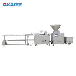 El uso comercial del dispositivo de llenado automático de la salchicha relleno Twister enlazador que hace la máquina/máquina de procesamiento de carnes y embutidos de torsión de llenado
