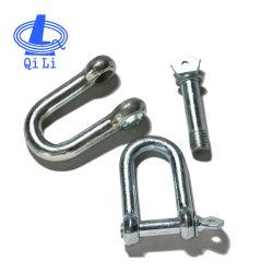 Type 316 roestvrijstalen sluiting 8mm warm gesmeed D-sluiting Type