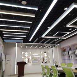 W64*H40mm LED 궤도 빛 알루미늄 천장 궤도 점화 가로장 스포트라이트는 전통적인 할로겐 램프 현대 자석 추적 빛을 대체한다