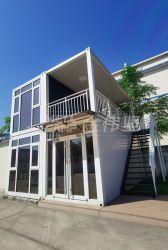 Personalizable Oficina Móvil de lujo casa prefabricada paquete plano Casa contenedor