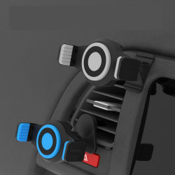 V6 multifunctionele autobeugel met automatische vergrendeling en montagestandaard voor ventilatieopening voor Smartphones