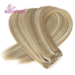 Высококачественный бразильского Virgin Реми человеческого волоса Weft