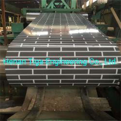 PPGI in Comouflage und in der hölzernen Korn-Farbe beschichtete Stahlring