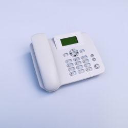 Doble tarjeta SIM 4G LTE Teléfono de escritorio la tarjeta del TF