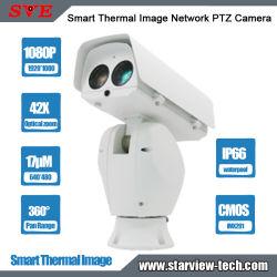 640*480 17um Smart тепловые сети изображения камеры PTZ