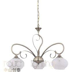36741 elegante estilo europeo clásico colgante colgante Gota de Luz Dormitorio Comedor araña de luces de lectura