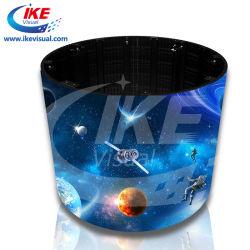 임대 시 절전 기능의 부드럽고 유연한 원형 LED 디스플레이 화면 또는 고정 설치 설정