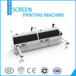Stampatrice curva due colori della matrice per serigrafia della stampante dello schermo di superficie rotonda High-Efficiency