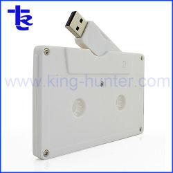 regalo de promoción personalizada de la capacidad de cinta de cassette Ture unidad Flash USB