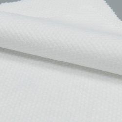 Spunlace Nonwoven 60gramos Pearl el patrón de puntos/poliéster viscosa Spunlace Nonwoven Fabric para las toallitas húmedas Tejido sin tejer