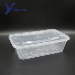 Commerce de gros des aliments en plastique jetables micro-ondes Conteneur de sécurité