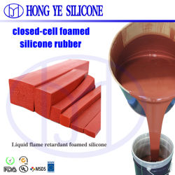 prix d'usine éponge mousse de silicone RTV2 matériau mousse en caoutchouc de silicone pour la vente