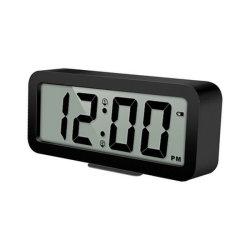 Для изготовителей оборудования с возможностью горячей замены продажи мини-портативный цифровой пластика для настольных ПК ЖК-будильник с отображение календаря