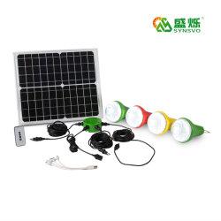 Draagbare zonne-energie Kamperen uitrusting licht Zonnepaneel/systeem lader LED Licht