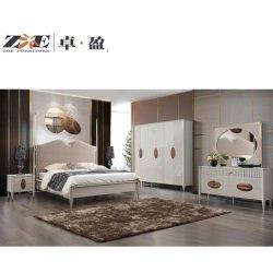 La mobilia moderna della casa della camera da letto della mobilia del guardaroba dei sei portelli imposta la mobilia della camera da letto matrice di /Modern della camera da letto