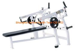 Bepaal Sterkte, bepaal Technologie van de Gezondheid, de Machine van de Sterkte van de Hamer, de apparatuur van de geschiktheid, de machine van de gymnastiek, de Nieuwe Beste Pers van de Bank van de Hamer ISO-Zij Horizontale (dhs-3007)