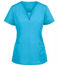 Stampa personalizzata scrub ospedale uniformi a manica corta/lunga Abbigliamento medico