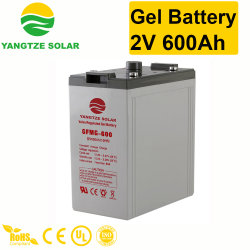 Popular Yangtze 2V 600AH Las baterías de gel de ciclo profundo