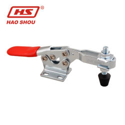 Haoshou Cina Clamp fornitore HS-225-D simile a 225-U Custom Quick Rilasciare il morsetto a levetta regolabile per impieghi pesanti in posizione orizzontale