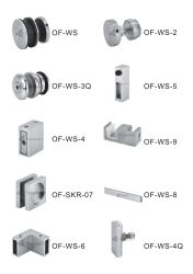 Los kits de puertas corredizas ducha-Ws serie (180 grados)