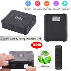 Neue billige 6600mAh große Batteriekapazität 2G Fahrzeug Automobil GPS-Tracker mit Vibrationsalarm T800B