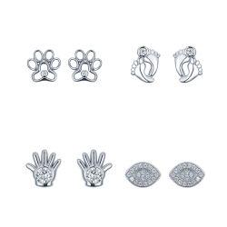 مصنع بالجملة 925 فضة أو حلي براس الصغيرة مجوهرات