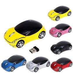 En gros la forme de voiture de la souris optique sans fil
