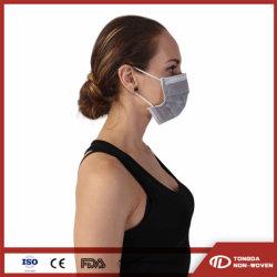 Nonwoven quatro camadas de materiais descartáveis Anti-Dust activado em face de protecção de isolamento respirável Máscara contra Poeira
