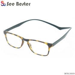 Populaires lunettes de lecture magnétique TR90 pour les hommes et femmes avec de longues des temples, la pendaison des lunettes de cou