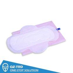 precio de fábrica OEM Mini alas algodón toalla sanitaria para mujeres