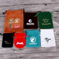 Tamanho personalizado jóias macio sacos de veludo Veludo Saco para roupa suja coloridos dons bolsas para joalharia Candy dons