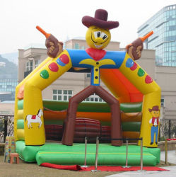 Children를 위한 팽창식 Bouncer Clown Jumping Bouncy Castle Toy