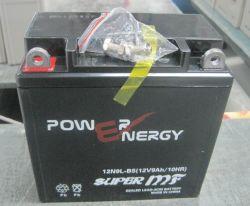12n9lBS 12V9ah Activedによって密封される手入れ不要の鉛の酸のオートバイ電池