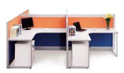 Matériel de bureau en bois tissu Table meilleur ordinateur portable de station de travail