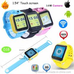 3G GPS Tracker посмотреть номер телефона для детей с несколькими точное положение D18