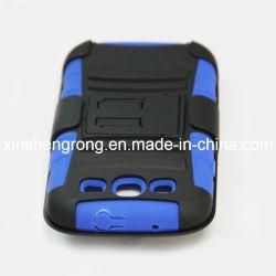 Kombinierte Telefon-Kasten-Abdeckung für Samsung-Galaxie S3 I9300 mit Standplatz